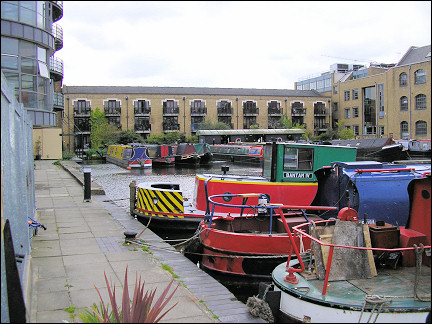 United Kingdom, London - Little port at Canal Museum