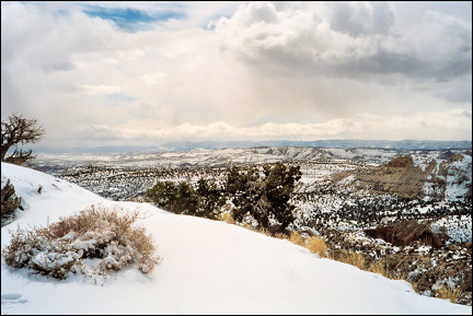 USA, Utah - View from The Hogback