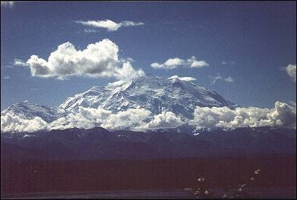 VS, Alaska - De top van Mount McKinley