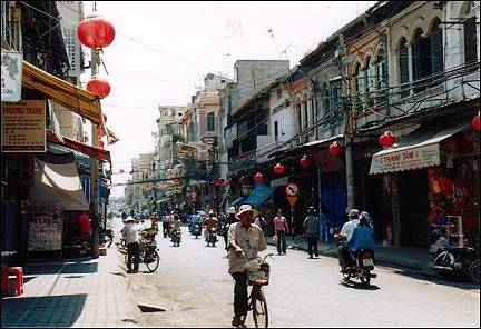 Vietnam - Saigon, Chinese district Cholon