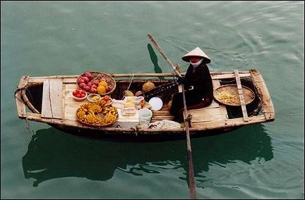 Vietnam - Ha Long Bay, boat
