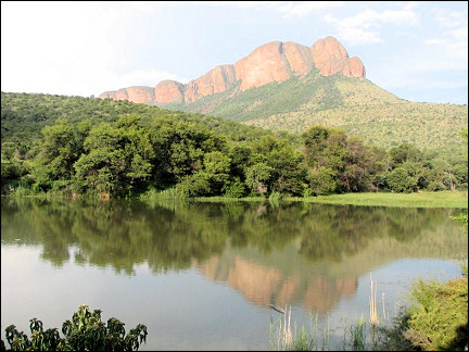South Africa - Marakele, View of the Apiesrivierpoort Dam