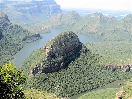 South Africa - Mpumalanga Panorama route, view