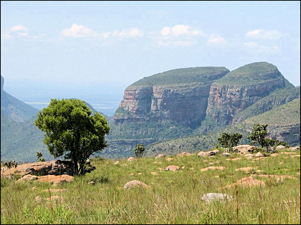 South Africa - Mpumalanga Panorama route, Three Rondavels