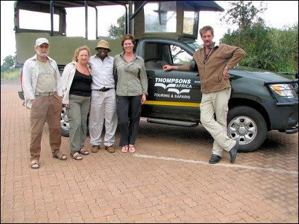 South Africa - Kruger Park, on a safari with guide Smartie