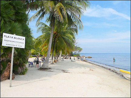 Guatemala White Sand Beach